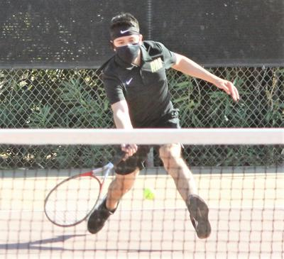 DHS girls tennis ends week with 9-0 win over PV