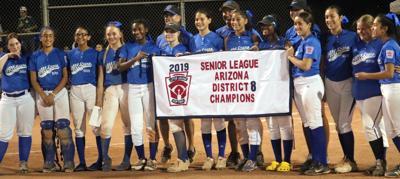 2019 Senior Ponytail softball