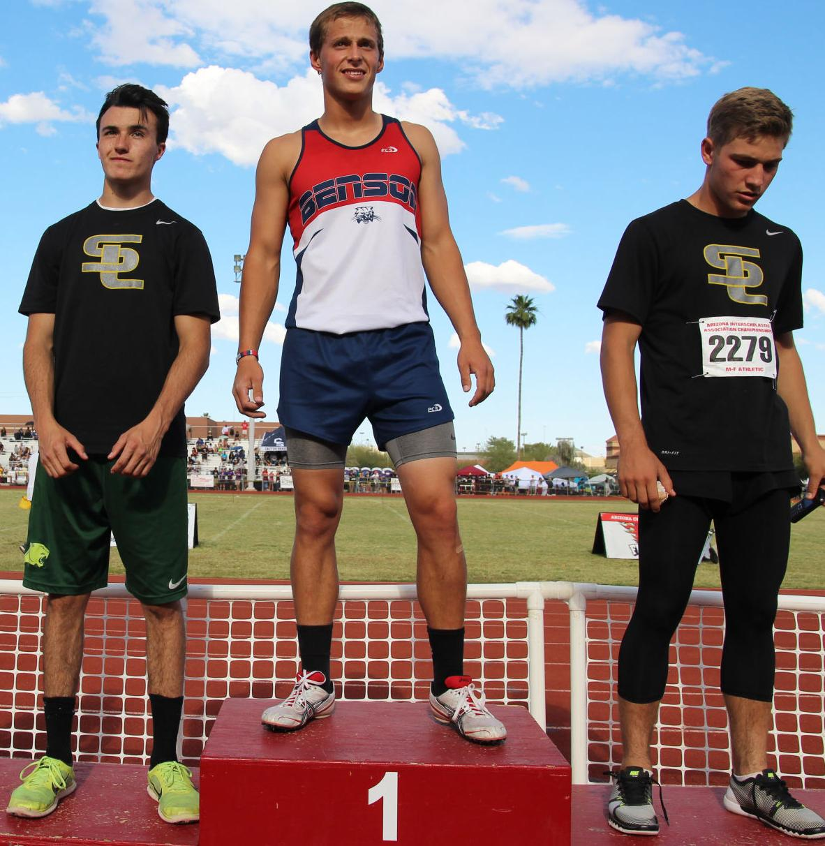 Thomas, Gritti clinch track state titles for Benson (copy)