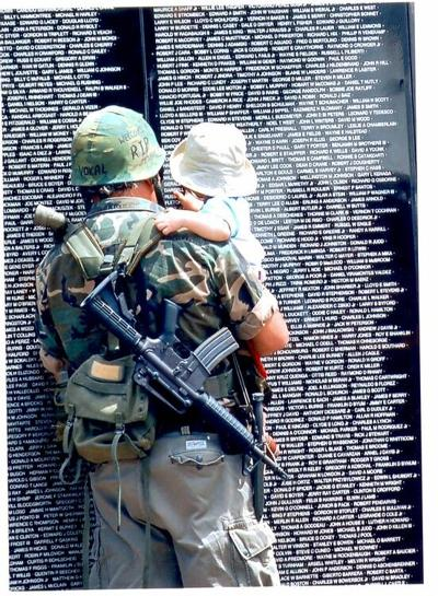 Paying tribute to veterans