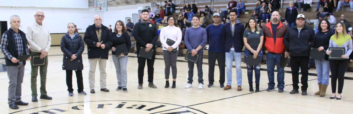 Former DHS alumni honored by DHS SALC