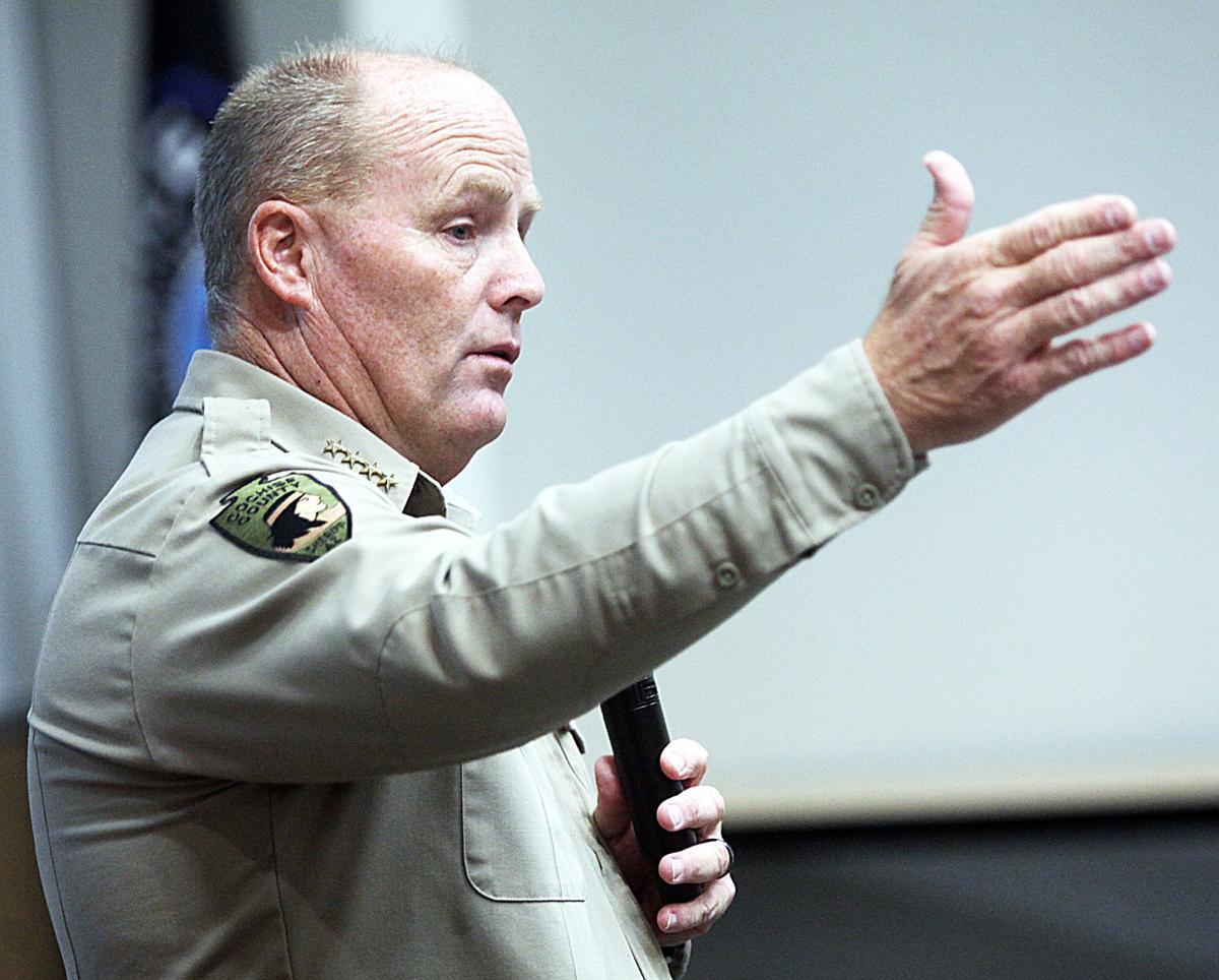 Sheriff holds round table for the public