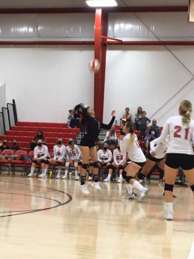 Willcox volleyball against Benson