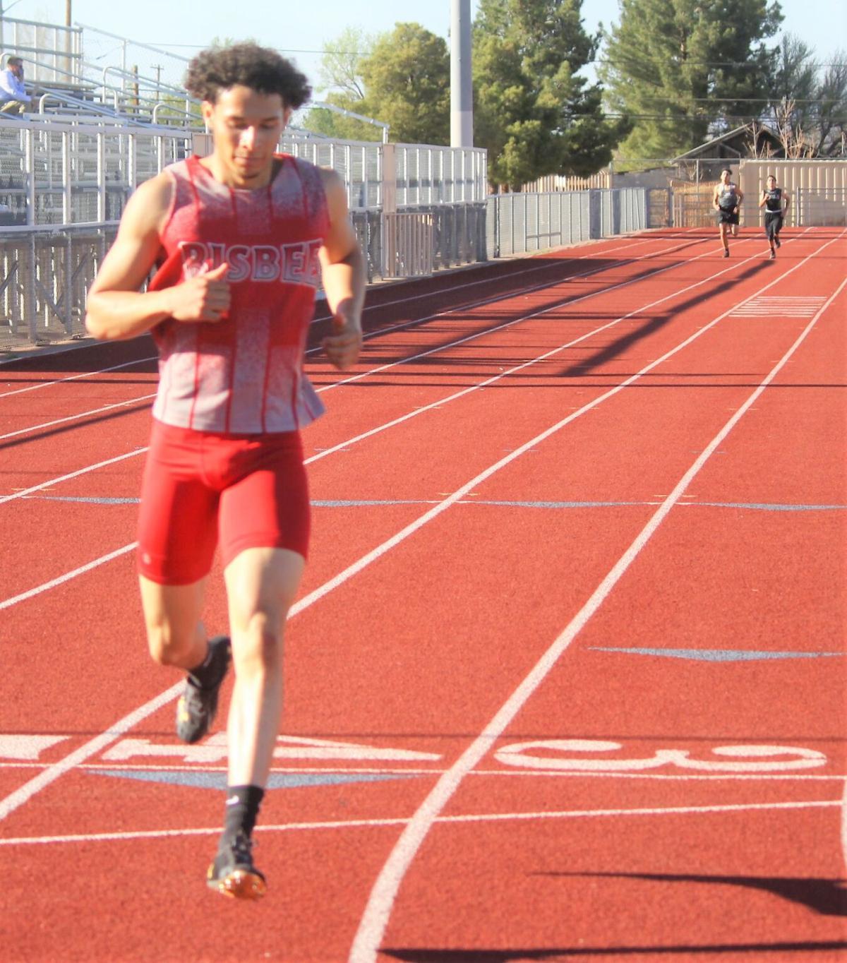 Bisbee track has some impressive performances at 3-way meet