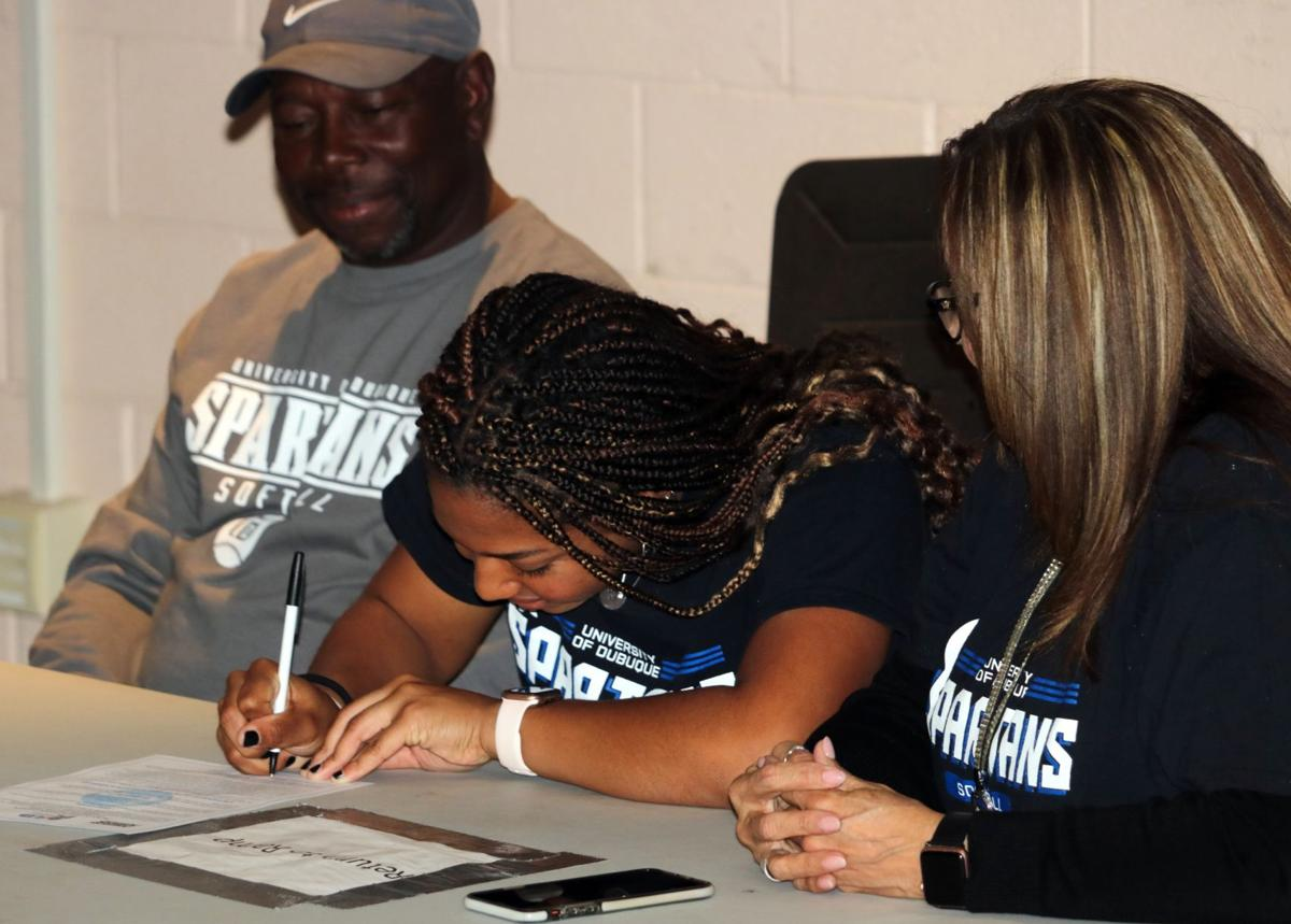 Lauren Brown signing