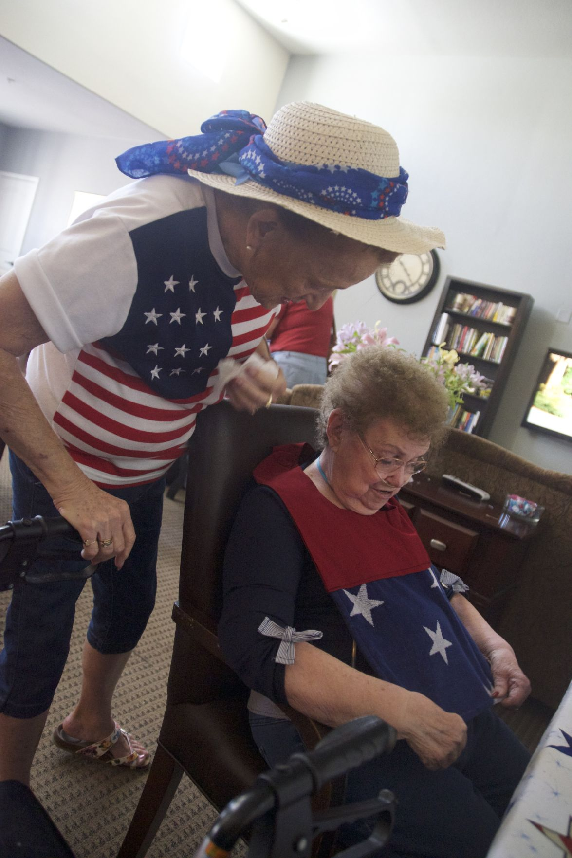 Service project reaches the elderly