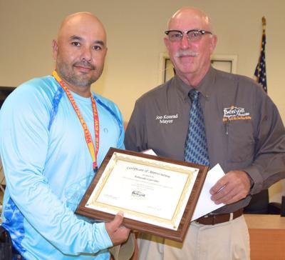 Rolando Carrillo -- employee recognition