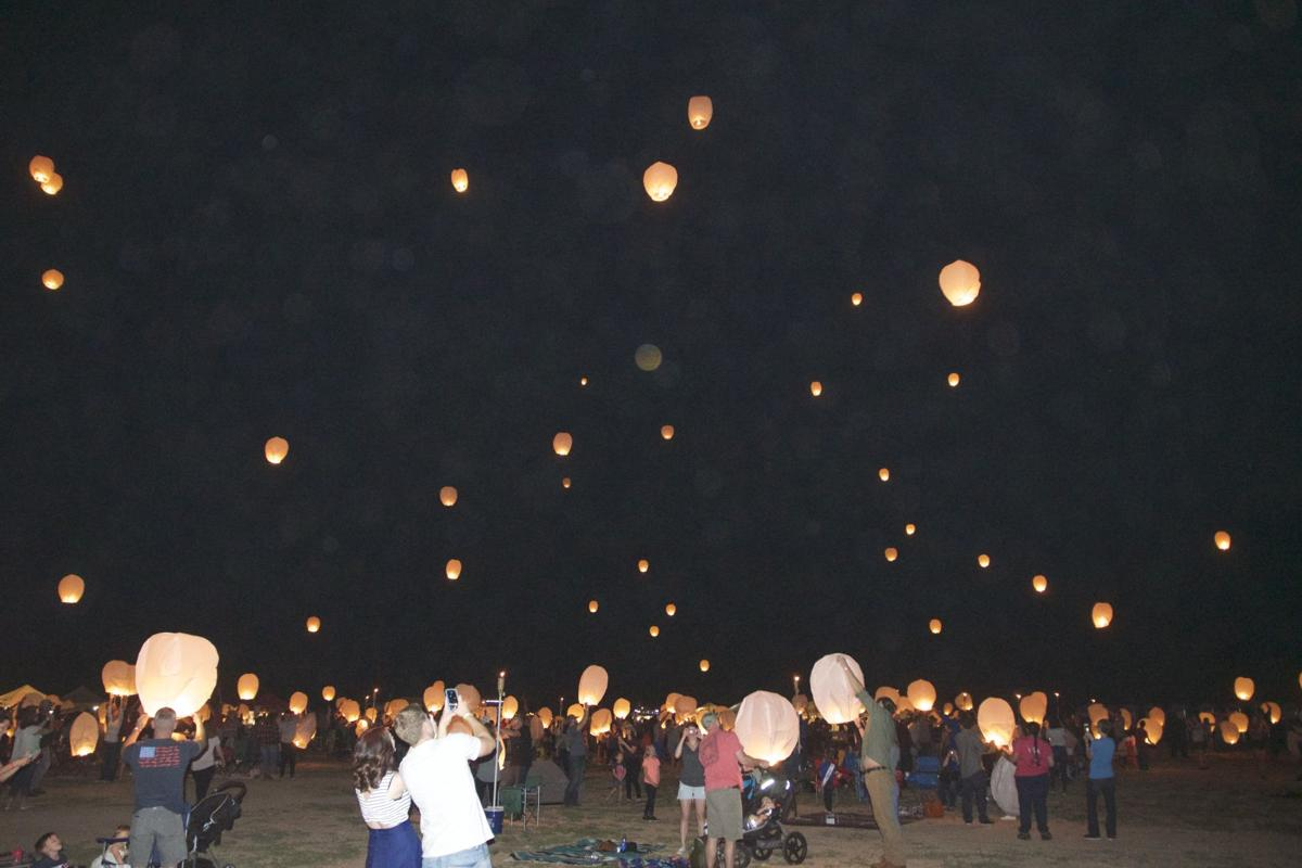 Glowing reviews for Benson's first-ever lantern festival | Cochise