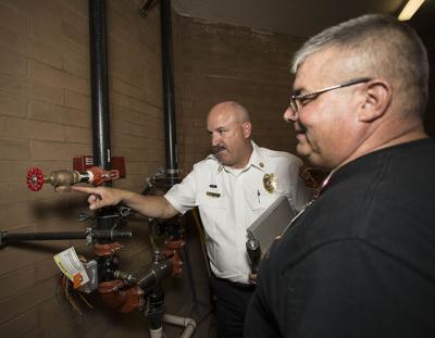 School inspection fire marshal