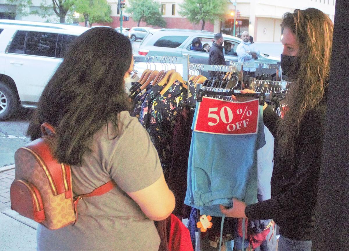 Local merchants encourage downtown shopping