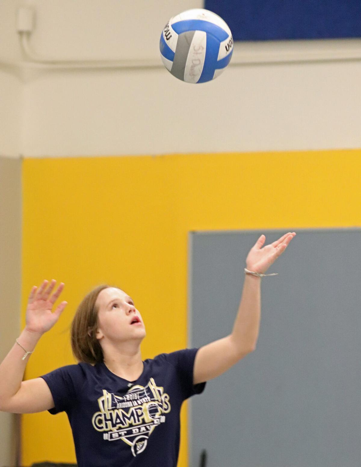 St. David Volleyball 2