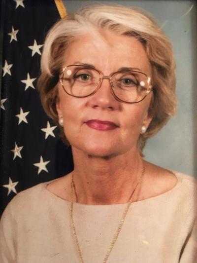 Karin (Schafer) Hodgkins, 80