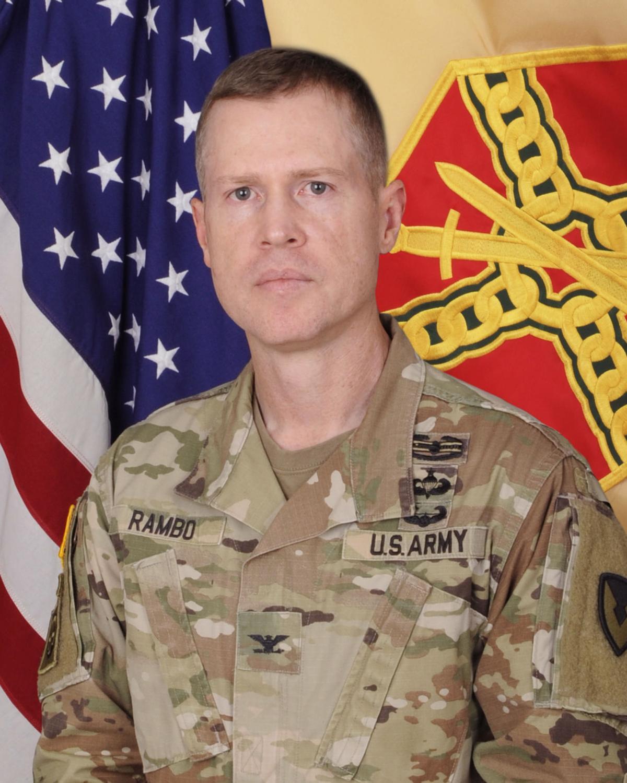 Col. Chad Rambo