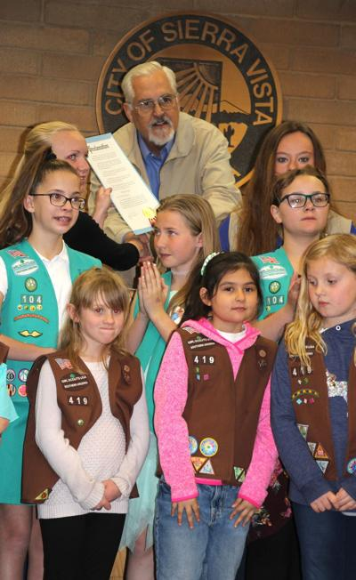 city council girl scouts