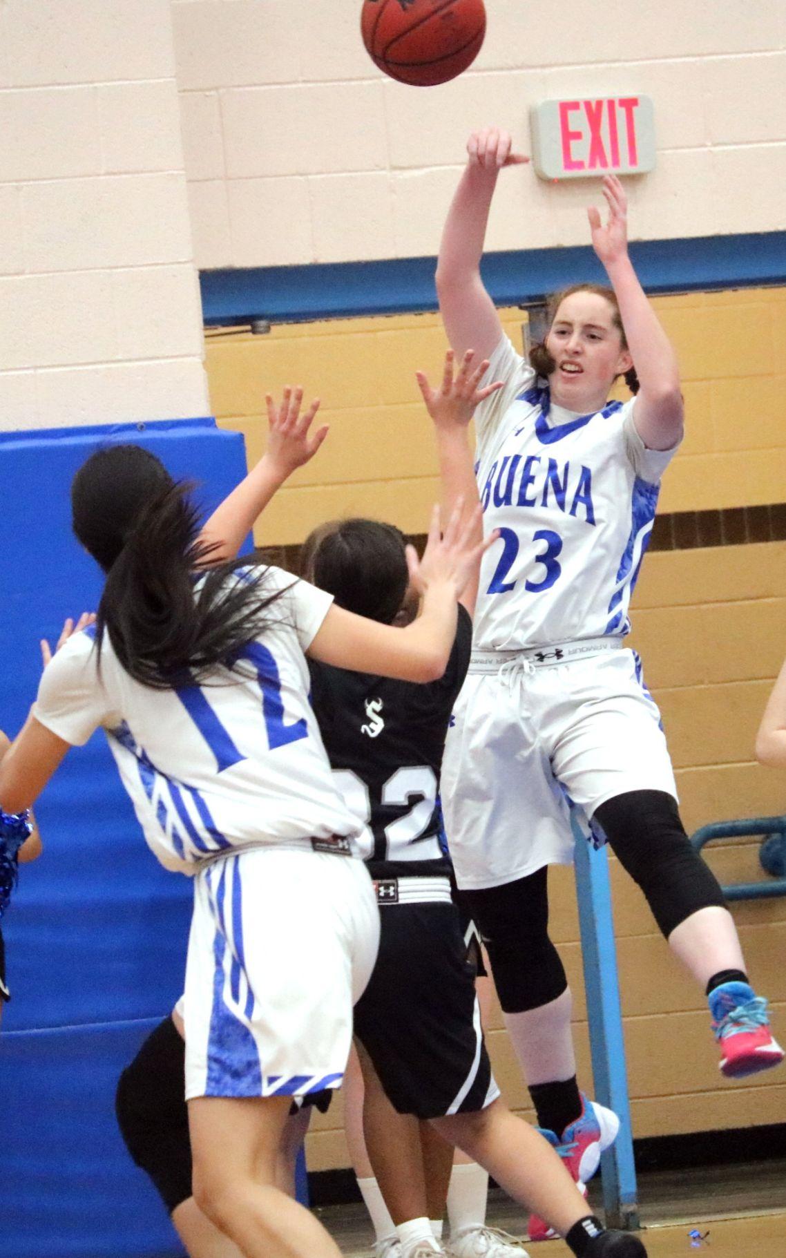 Buena girls basketball vs Sunnyside 1