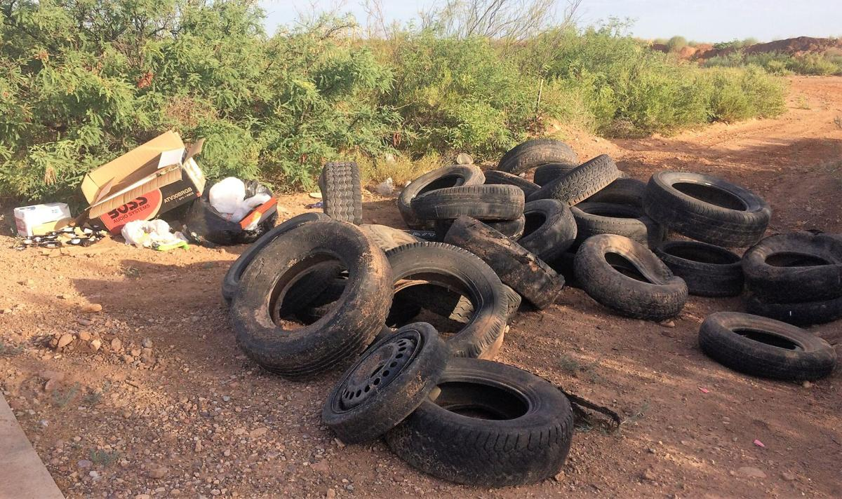 Illegal dumping resumes following 'Desert is Crying' cleanup