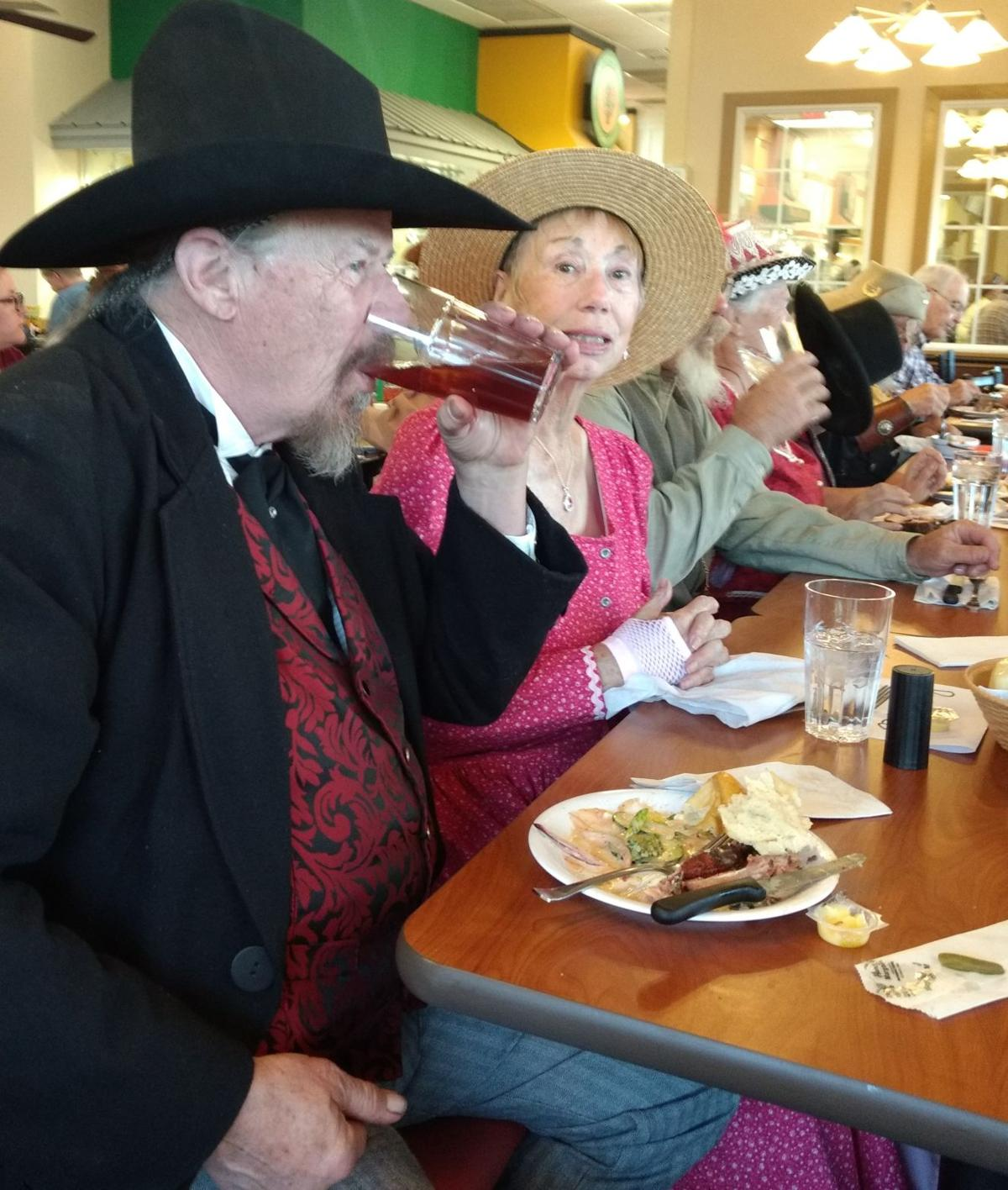 Old West group channels 1880s at monthly meeting