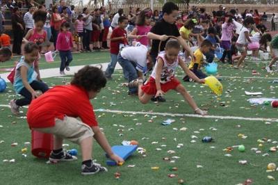 Community Easter Egg hunt Saturday