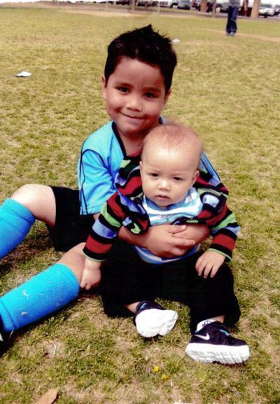Liam and Xzavier Romero birthday