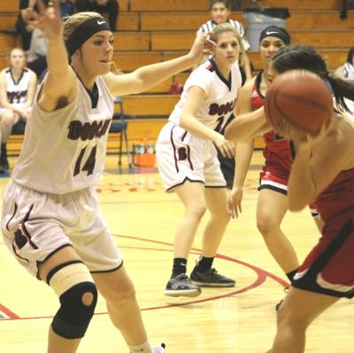 Benson girls basketball vs Morenci