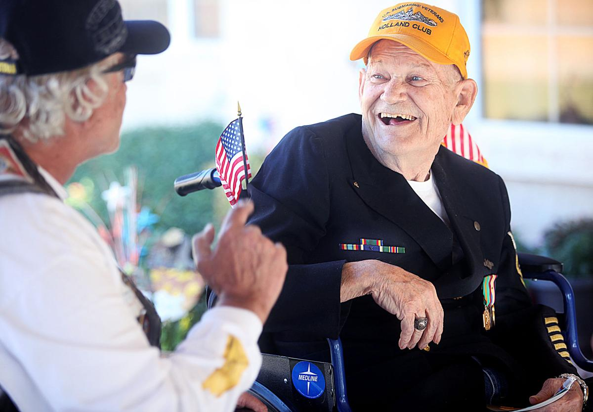 Salute to veterans at Prestige Assisted Living