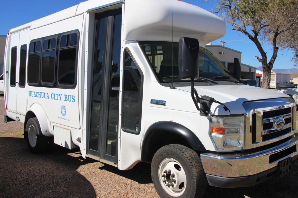 Huachuca City Transit bus (copy)