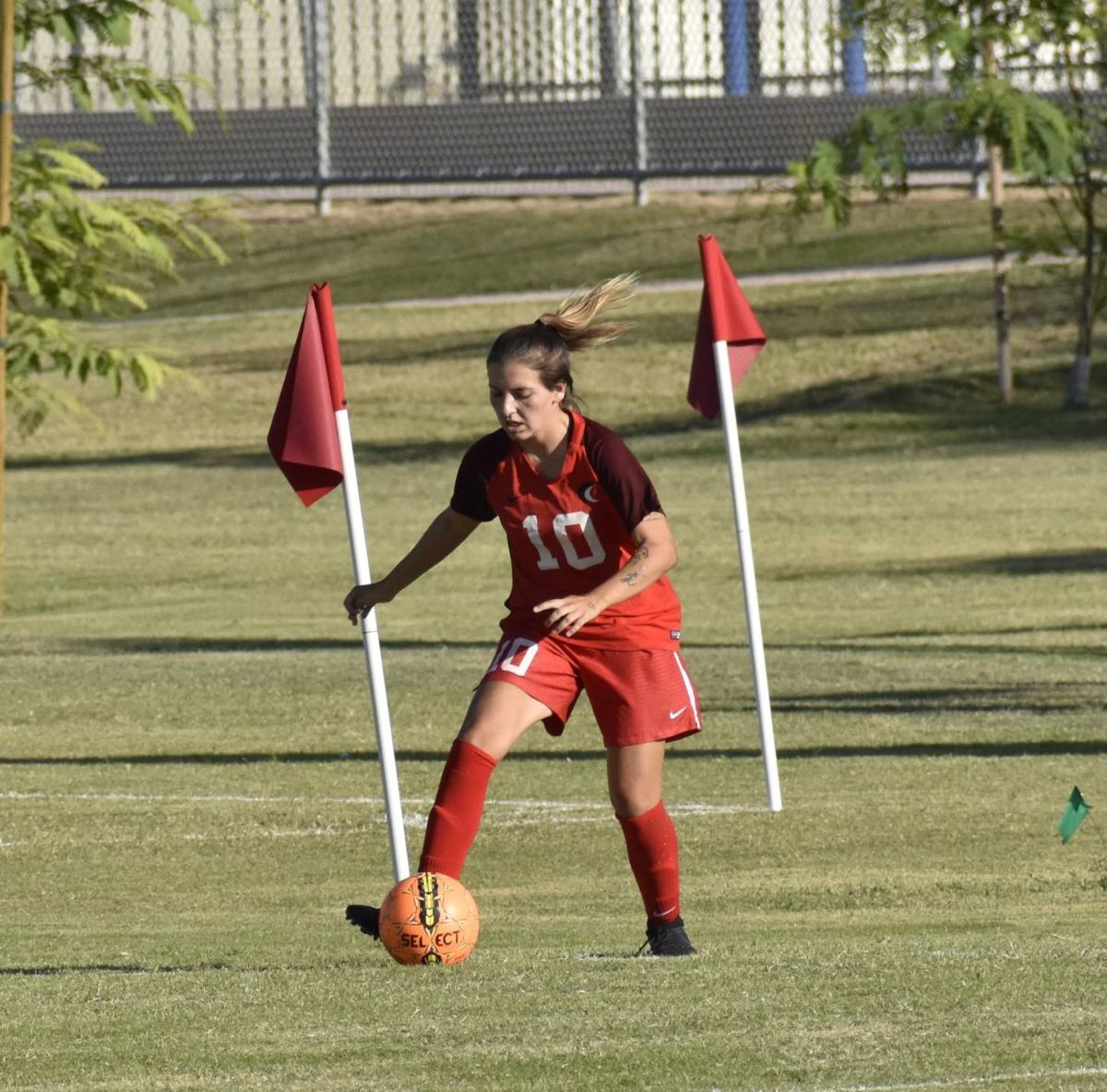 Maria Azarias was awarded the ACCAC Player of the Year.