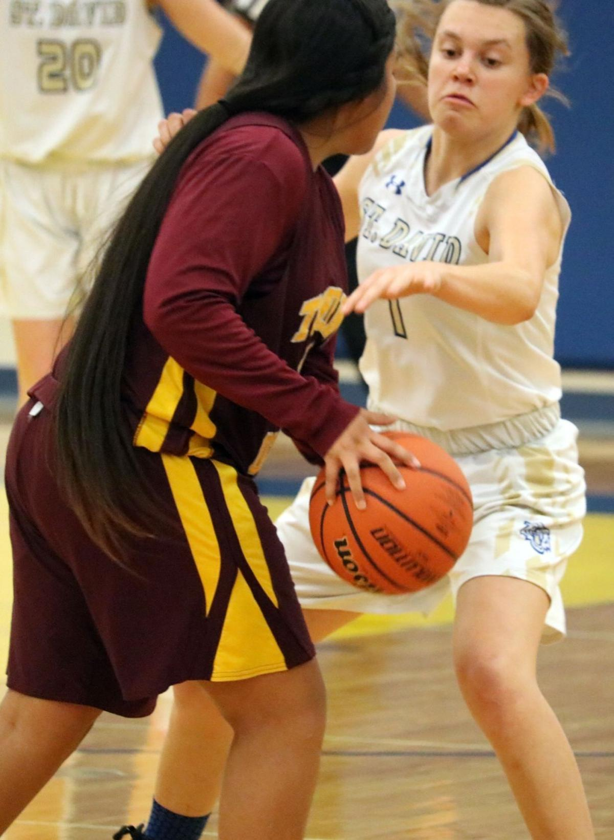St. David girls basketball vs  Tohono O'Odham