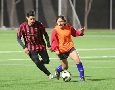 Co-ed soccer league underway