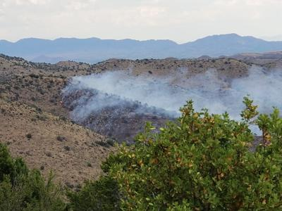 mule mountain wildfire