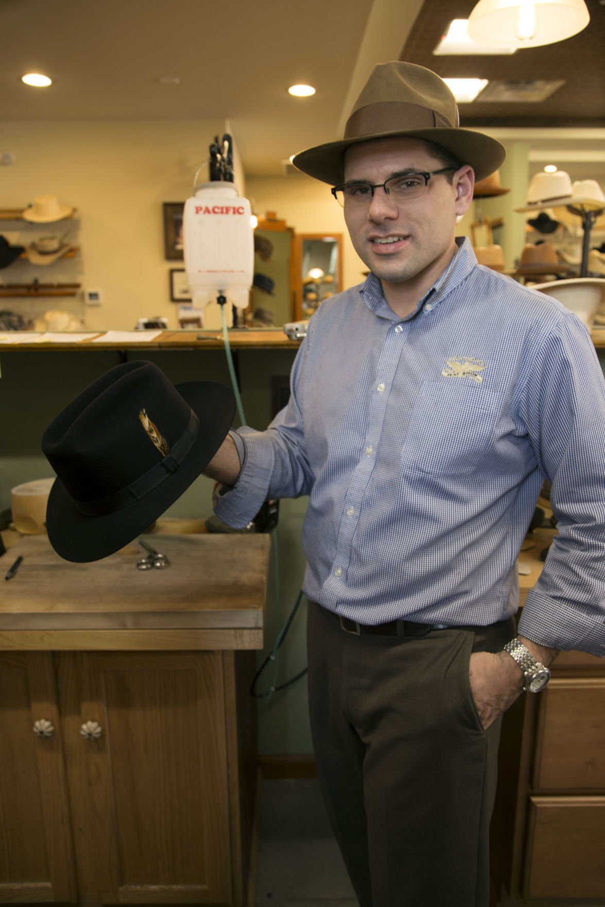 67da9f97 Custom hats still made the old-fashioned way | Local News Stories ...