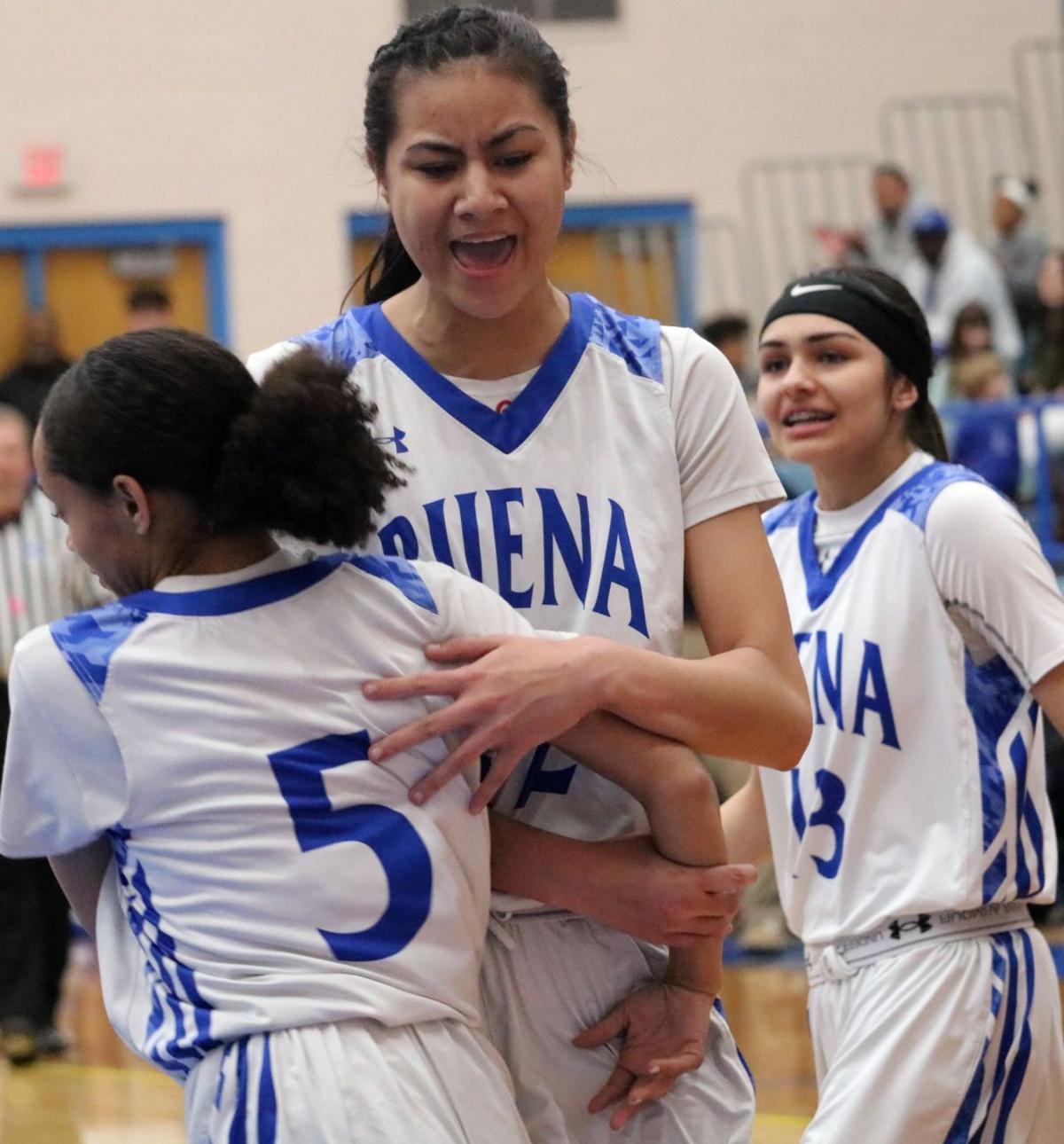 Buena girls basketball vs Nogales 3