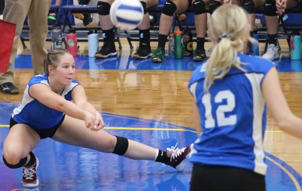 Buena vs Desert View Volleyball 1