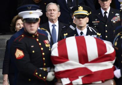Farewell, 41: America's 'last great soldier-statesman' celebrated in capital
