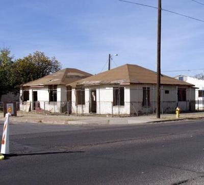 Abandoned homes set to be demolished
