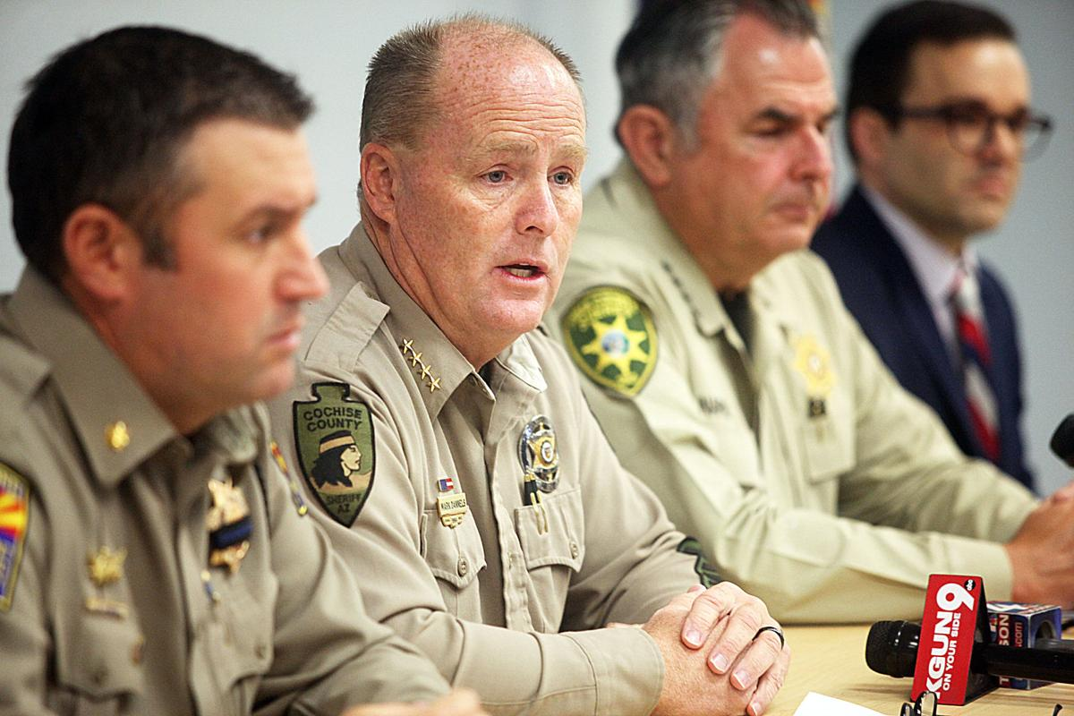 Cochise County Sheriff's Office, other agencies execute large-scale