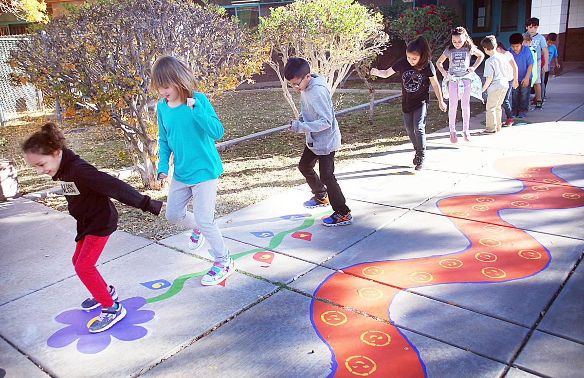 Sunny side up: Coronado Elementary project creates happy, safe environment for children