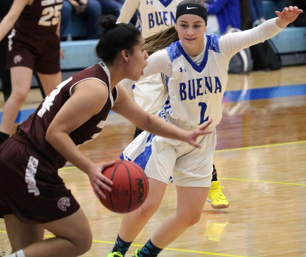 Buena girls basketball vs Desert View