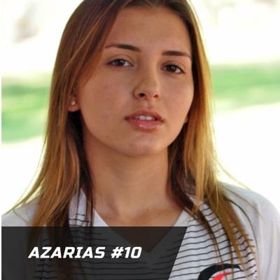 Azarias, named Honorable Mention women's soccer All-American