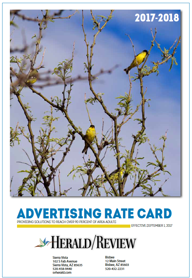 Advertise myheraldreview 2017 rate card reheart Image collections