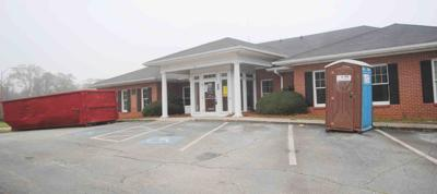 While the Monroe Co. Health Dept. building, which is owned by the county, is getting major upgrades, the staff has been able to move next door to continue COVID testing, vaccinations and other services.