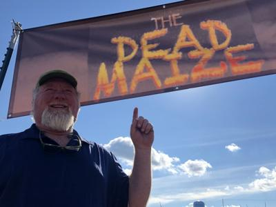 Hamiln Hills owner Lee Hamlin welcomes visitors to The Dead Maize. (Photo/Steve Reece)
