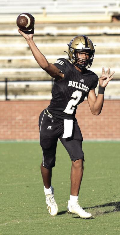 Nemo Jones threw a touchdown in the win over Upson 28-8. (Photo/Will Davis)