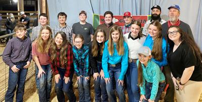 Monroe Co. Schools FFA  teams compete in Hog Show