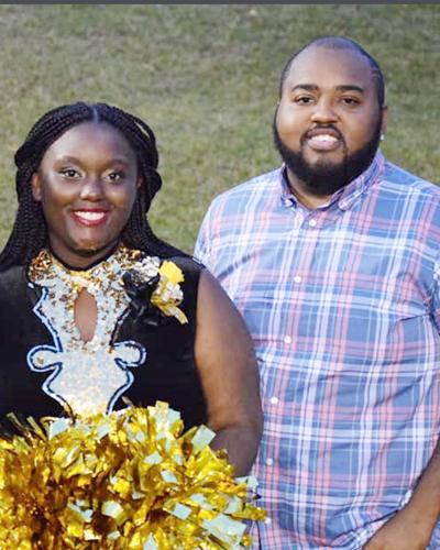 Jasmines Moore and her brother, Brandon Moore
