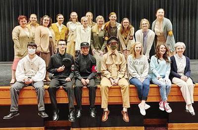 """The Mary Persons cast and crew of """"Letters to Sala"""" impressed judges in the Region 3AAA competition and now plans to impress judges in State competition on Feb. 20 and members of the community in performances at the Fine Arts Center on Feb. 26 & 27."""