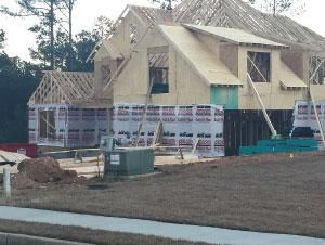 County home construction enjoys best year since '08