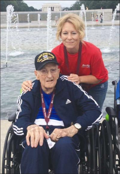 Forsyth's Collins takes Honor Flight to D.C.