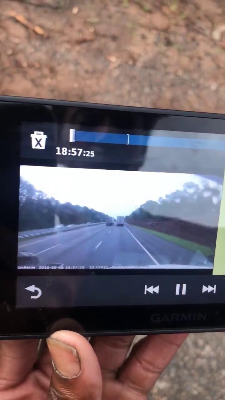 VIDEO: Camera captures bad wreck on I-75