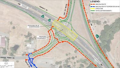 SR-29/SR-221 junction interchange - Alternative 1 (copy)